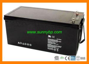 12V 100AH/200Ah recargable, Batería sin mantenimiento para el sistema de Energía Solar