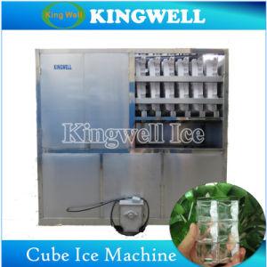 Kingwellの大きい商業立方体の製氷機8tons/Dayの魅力的な水晶氷