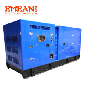 100Ква 80квт бесшумный дизельный генератор с двигателем Cummins