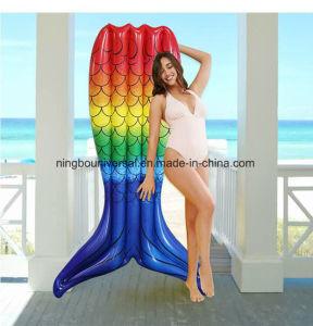 Flottement de la piscine gonflable personnalisé Mermaid Eau de mer piscine Plage Jouet flottant