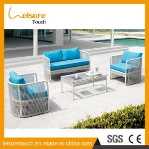 Grande promoção chinês de vime Vime Mobiliário de exterior Mobiliário de Jardim Sofá Sofá Transversal
