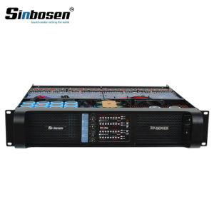 Clase D Sinbosen de Canal 4 Amplificador de Audio Profesional Amplificador de Potencia Fp10000P
