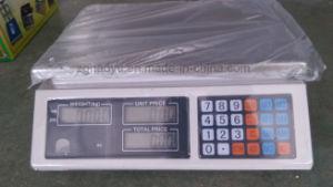 Banc de comptage électronique numérique prix Échelle avec affichage LED