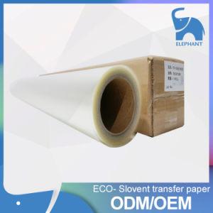 Carta da stampa di scambio di calore di Eco Slovent di prezzi bassi di fabbricazione