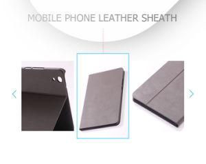 Classic Simple Flip Kickstand cuero pu impermeable Funda Tablet