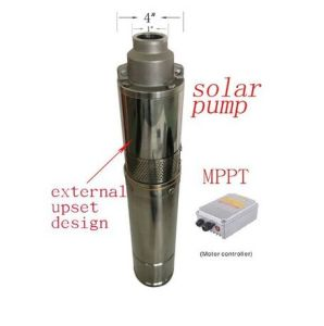24V太陽水ポンプの高品質の農場の潅漑の試錐孔ねじ水ポンプ新しく熱いポンプ4spst2.1/50-D24/270