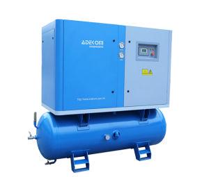 Beweglicher elektrischer stationärer Schrauben-Becken-Luftverdichter (K5-13D/250)