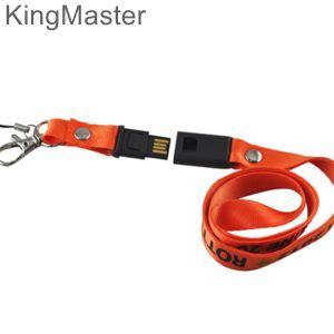 Шнурок Kingmaster оранжевый USB Stick флэш-накопителей USB