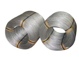 Elettro o filo di acciaio ad alto tenore di carbonio galvanizzato tuffato caldo