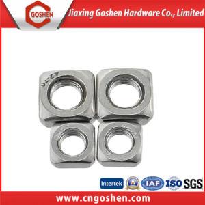Ss304 DIN557 l'écrou carré / DIN557 de l'écrou avec une haute qualité