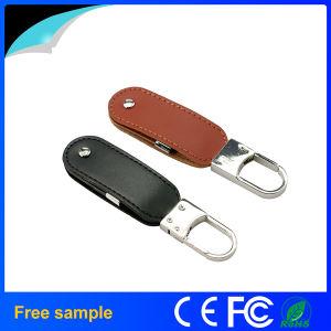 卸し売りRomotionalのギフトの革USBの棒8GB