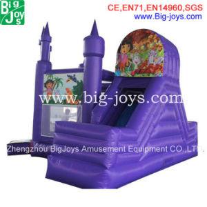 O castelo inflável com deslize Combo, Jogos insuflável de alta qualidade