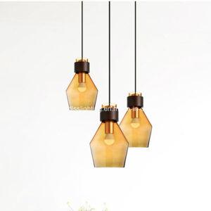 Het moderne Eenvoudige Creatieve Enige Hoofd Kleurrijke Licht van de Winkel van de Koffie van de Staaf van de Woonkamer van het Glas