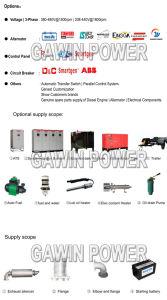 Grupos electrógenos diesel serie Jichai Primer 900kw-2200kw