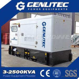Silencieux Portable 15kVA Groupe électrogène Diesel avec moteur Perkins (UK)