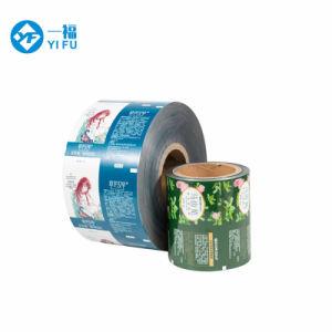 Grau alimentício Personalizadas Snack de plástico laminado de rolo de papel alumínio Embalagem Filme Rolo /Filme Plástico /Filme de alimentar o logotipo com