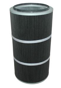 Gesponnene geklebte Polyester-Luftfilter-Kassette mit PTFE