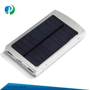 10000mAh de energía solar y el Banco de potencia de iluminación para Smart Phone