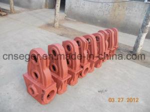 Custom Foundry gris acier / Gris / fonte Ductile Iron de sable de moulage en aluminium