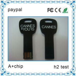 レーザーLogoとの2GB Key Shape USB Flash Drive