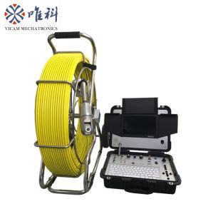 150m de diámetro. 9mm de cobre del cable de fibra de vidrio eje CCTV Video de la Cámara de inspección de alcantarillado