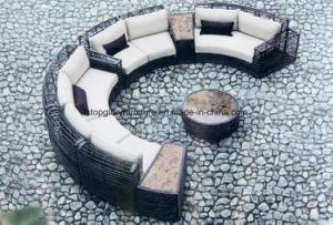 Im Freienrattan-Patio-Garten-Sonnenaufgang-Aufenthaltsraum-Sofa (TG-021)