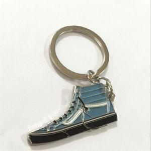 Chaussures pas cher en Métal Métal personnalisée de l'émail de chaîne de clé-09015 (XD)