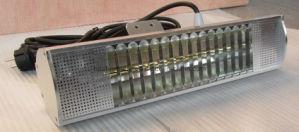 Aquecedores de pátio de infravermelhos PI65 1300w/1500w/1800W