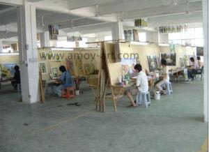 A arte de parede feitos de lona de Borrego pintura a óleo para decoração