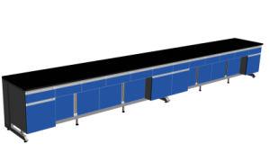 Mobilia di legno del laboratorio del C-Blocco per grafici con l'alta prestazione di costo