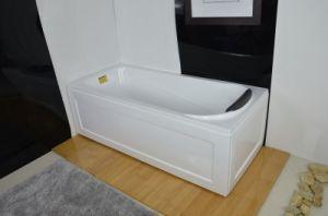 Vasca Da Bagno Semplice : Grembiule acrilico di rettangolo vasca da bagno semplice del