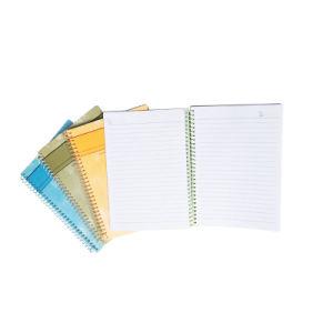 Logótipo da tampa personalizados de alta qualidade impressos Notebook em espiral