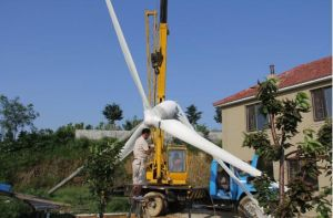Gerador de turbina elevado do vento da C.A. da eficiência 10kw 220V micro para o preço interno