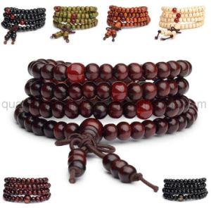 OEM 최신 판매 나무로 되는 중국어는 팔찌를 구슬로 장식한다