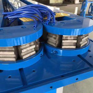 El plástico PE PP Una sola pared tubo corrugado que hace la máquina Línea de Producción/.