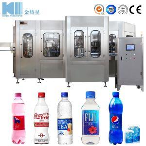2018匹のペットガラスビンの二酸化炭素は水ジュースの飲料の飲み物ビール等圧満ちるびん詰めにする作成機械をスパークさせるガスを炭酸塩化した