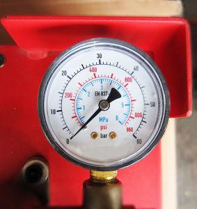 ステンレス鋼タンク(HSY30-5S)が付いている高レベル手動圧力試験ポンプ