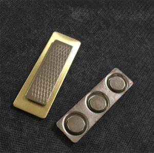 Distintivo di nome differente di nomi di stampa del metallo con il magnete (XD-013124)