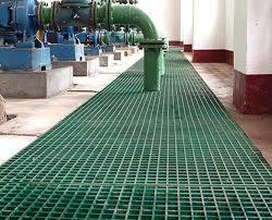 Moldeado de plástico reforzado con fibra de alta resistencia, cubierta de rejilla/Paseo de la plataforma/.