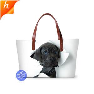 2018 собака печать Beach Bag Dropshipping Сублимация сумку для женщин