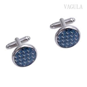 VAGULA jóias de prata Fibra Smoking alfinetes PCS 6 pernos Defina os punhos