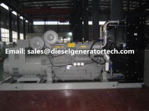 generatore diesel della Perkins di alto potere 1650kw con il motore 4016tag2a della Perkins