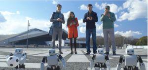 Robô 3D educacional inteligente de venda quente