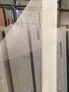 قلويّة مقاومة [فيبرغلسّ] شبكة لأنّ صوّان وحجارة, [85غ], [2م] عرض, [500م] طول