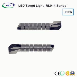 Calle la luz LED de alta potencia 210W IP65 con controlador Meanwell