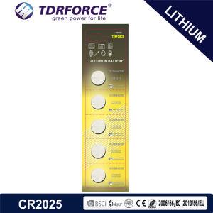 батарея лития клетки кнопки 3V Cr1220 Non-Rechargeable с Ce для игрушки