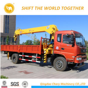 Heißer Verkauf 8 Tonne Hiab LKW-LKW-Kran eingehangener Kran