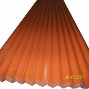 PPGI PPGL Tuile prépeint panneau de toiture