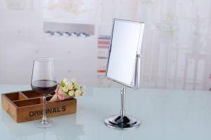 Support de bureau miroir de maquillage compact miroir rotatif
