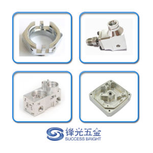 Il professionista ha personalizzato il fermo lavorato CNC anodizzato dorato dell'alluminio Al6061-T6 (F-245)